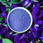 blue butterfly pea flower powder