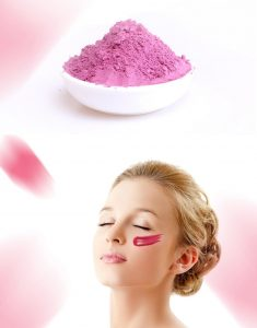 rose beauty mask
