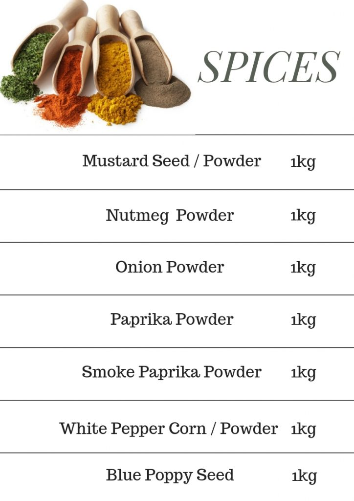 spices malaysia